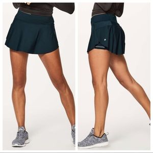"lululemon - quick pace skirt 13"" athletic bottoms"